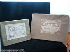 2 jolies anciennes boîtes, A. REAUMUR, PARIS, METZ, NANTES