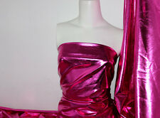 Rosepink 4 way stretch metallic foil spandex