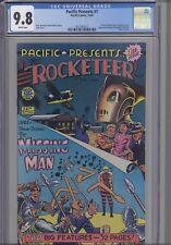 Pacific Presents #1 CGC 9.8 1982 Pacific Comic Rocketeer Movie: NEW CGC Frame