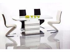 Vetrostyle Design Esstisch Tisch GUCCI hochglanz weiss 180(220)cm x 90cm