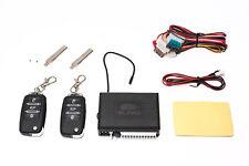Universal radio control remoto ZV cierre centralizado 2 transmisores manuales clave plegable °