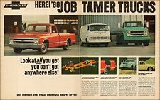 1967 ClassicTruck AD NEW 68 Chevy Trucks Fleetside Pickup, van, Tractor  043017
