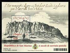 SAN MARINO 2007 IL POSTIGLIONE/POSTILLIONS/POSTAL SERVICE/MOUNTAIN souv.sheet