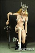 "1/6 Scale Customize God of War Clothing Set F 12"" PH Female Large Bust Figure"