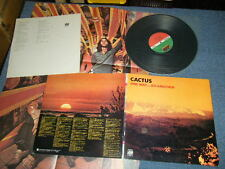 CACTUS Japan 1971 NM LP+Poster ONE WAY...OR ANOTHER
