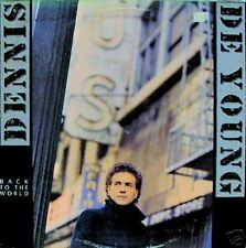 "DENNIS De YOUNG ""BACK TO THE WORLD"" LP 1986 NICE!"