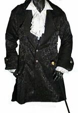 Kutscher Mantel Gehrock Gothic Mittelalter New Romantic Vampir Nosferatu S-XXXL