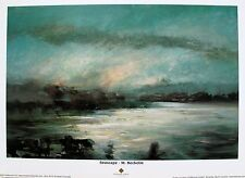 Seascape by M. Becketin from the Biltmore Estate Lithograph Art Print