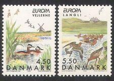 Denmark 1999 Europa/Parks/Gardens/Ducks/Birds/Nature/Windmill 2v set (n39079)