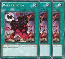 3 X YU-GI-OH CARD: DARK ERUPTION - SDGU-EN030 - 1st ED