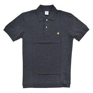 Brooks Brothers Mens Slim Fit Polo Shirt Golden Fleece Logo Performance Mesh New