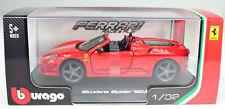 Ferrari California vitrina Bburago auto modelo 1 32