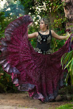TRIBAL BELLY DANCE JODHA MAHARANI SKIRT (25 YARD SKIRT) 100% Cotton