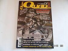 QUAD PASSION MAGAZINE N°27 09/2002 POLARIS PREDATOR YAMAHA 200 BLASTER     H38