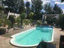 GFK Schwimmbecken Pool 6,00x3,00x1,50 SET Pooltechnik, Swimming Pool komplet