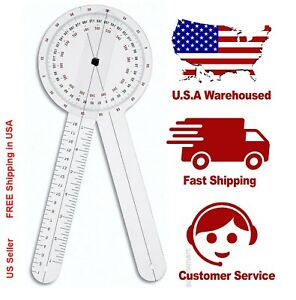 **US SELLER FAST Shipping** New ISOM Physical Therapy Goniometer 12 Inch 12""