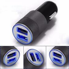 Dual Twin Port USB 12v/24V 2.4A Universal Car Cigarette Lighter Charger Adapter