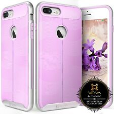 for iPhone 7 Plus, Lavender Case Girls Slim Luxury Shockproof Bumper Grip Cover