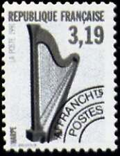 "FRANCE PREOBLITERE TIMBRE STAMP N° 220 "" INSTRUMENT MUSIQUE HARPE "" NEUF xx LUXE"