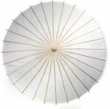 "32"" White Paper Umbrella, Wedding Parasol, Umbrellas for Wedding"