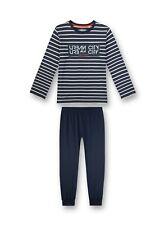 Jungen  Schlafanzug URBAN CITY,dunkelblau  v. Sanetta  Gr.164-176