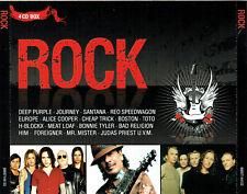 (4CD's) Rock - Deep Purple, Europe, Survivor, Boston, Judas Priest, Alice Cooper