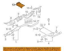 MAZDA OEM 10-13 3 Exhaust-Muffler Shield BFD156454A