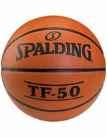 Spalding TF Series TF50 Entry Level Durable Rubber Cover Starter Basketball