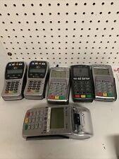 Lots Of 6 Verfone & First Data Credit Card Terminal