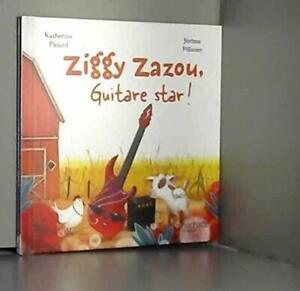 Ziggy Zazou, guitare star ! (Français) Poche - LIVRE - NEUF