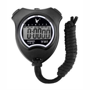 Digital Professional Handheld LCD Chronograph Timer Sports Stopwatch TF307