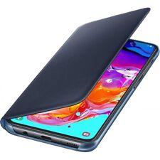 Samsung Wallet Cover Samsung Galaxy A70 schwarz Bookcover Schutzhülle black NEU