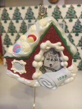 ESPECIAL FOTO PERRO soporte árbol de Navidad Hallmark Recuerdo Ornamento