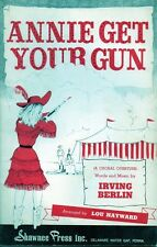 Annie Get Your Gun Irving Berlin Mixed Voices & Piano 1967 Rare Music Book