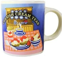 Tea Coffee Mug boxed Cornish Cream Tea Mug cup Cornish Gift Brand New