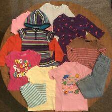 Lot of Children's Clothing Size 4-5 Jeans Long Sleeve Shirt Dress T-Shirt Capri