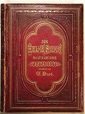 GUSTAVE DORE BIBLE -1876 - DIE HEILIGE SCHRIFT ALTEN UND NEUEN TESTAMENT, 13 x17