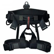 Professional Safety Rock Climbing Harness Seat Sitting Rappelling Waist Belt New