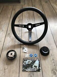 Escort MK2 Steering Wheel Leather Deep Dish  Inc Boss, Rally Car RS Mexico BDA