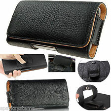 Universal Belt Pouch Clip Hip Loop Case Cover PU Leather Wallet for Mobile Phone