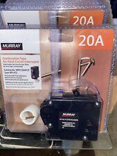 Murray 20A Single Pole 120V Plug-On Combination Afci Breaker