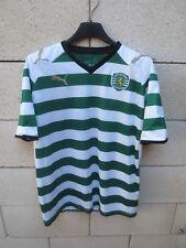 Maillot SPORTING CLUB PORTUGAL 2009 PUMA shirt jersey camiseta sans sponsor 16 M