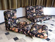 Sofa Lette set of Lounge Chairs & Ottoman by Otto Zapf Mid-Century Sofa | 1960s
