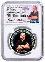 2017 Rick Harrison Denver ANA 1 oz Silver Medal NGC GEM Proof UC SKU48667