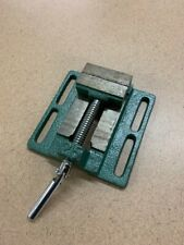 Central Forge 2-1/2 In. Drill Press Vise Grip materials tight drill press vise