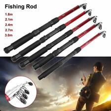 Portable Telescopic Sea Fishing Rod Travel Mini Glass Fiber Fishing Pole New SA