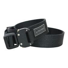 "Fusion Tactical Police Trouser Belt Gen II Type C Black Large 38-43""/1.5"" Wide"