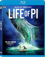 LIFE OF PI BLU RAY 3D NEW! THE NEXT AVATAR! ANG LEE, VISUAL MIRACLE EPIC JOURNEY