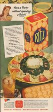 Ad Ritz Crackers - Good Housekeeping Magazine - September 1943