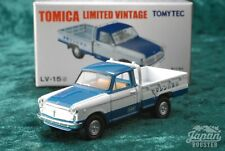 [Tomica Limited Vintage Lv-15d 1/64] Datsun 1200 Truck Yamashin (Blue/White)
